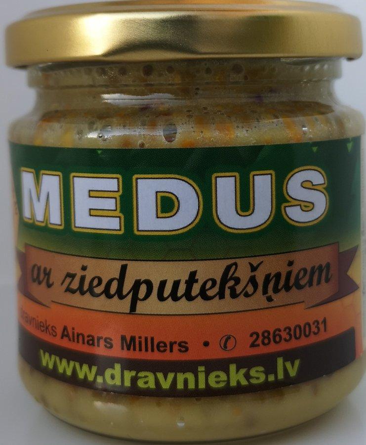 Medus ar ziedputekšņiem 230g