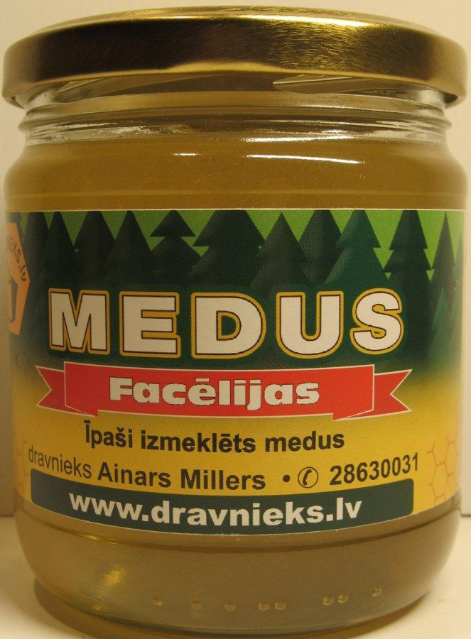Facēlijas medus 500g