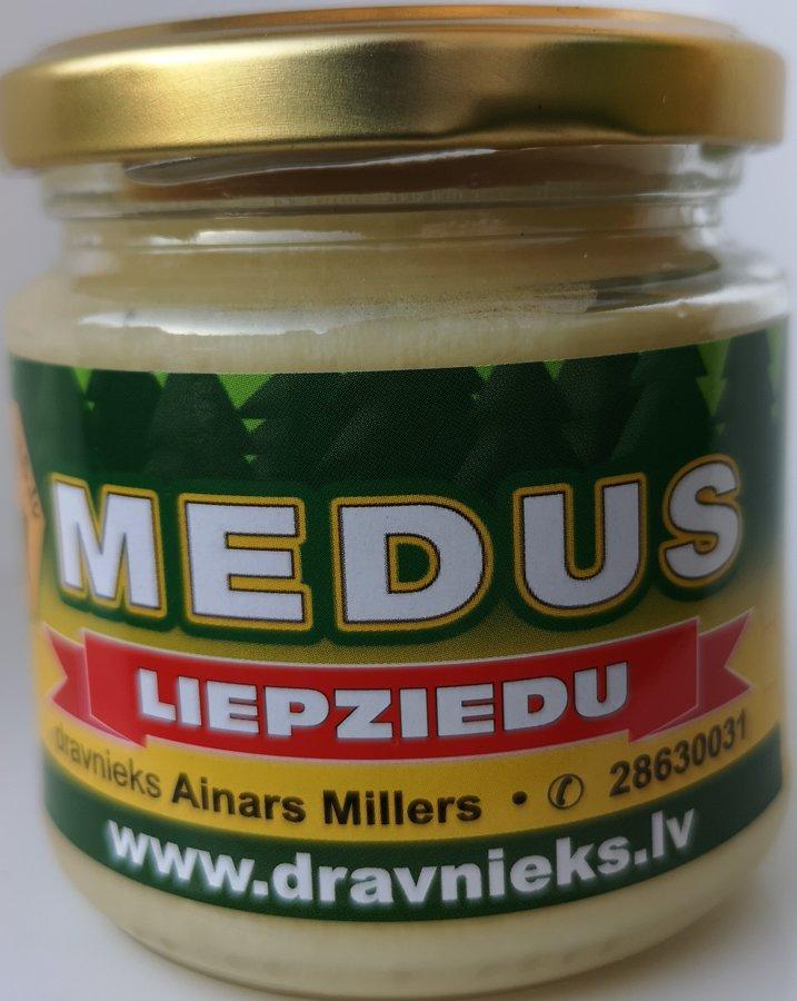 Liepziedu medus 250g