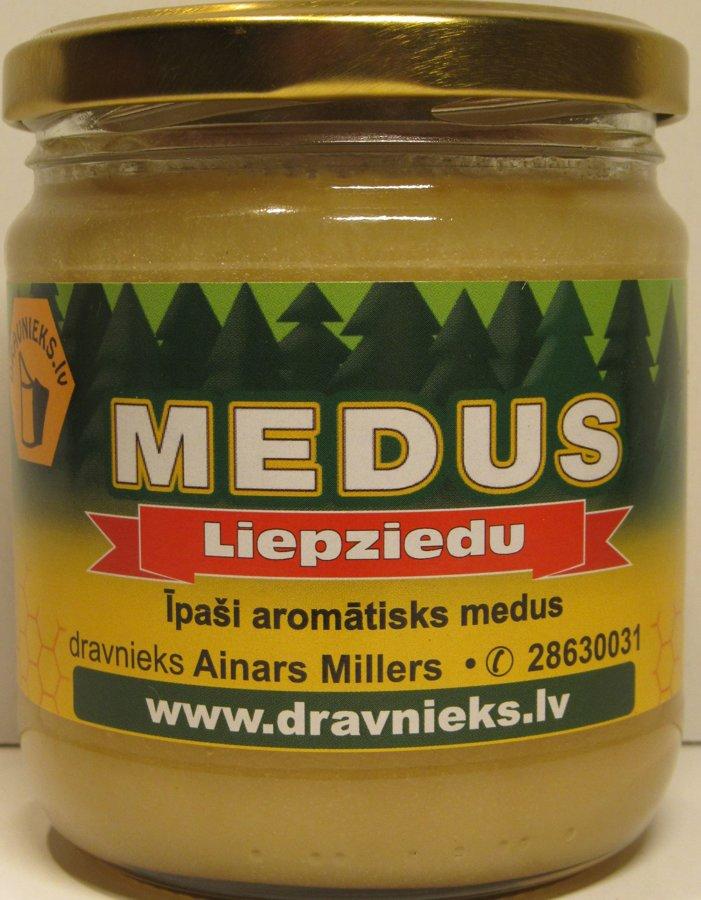 Liepziedu medus 500g